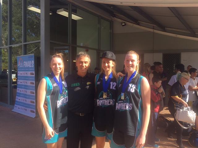 Coach Misha with 3 Grand Final Winners