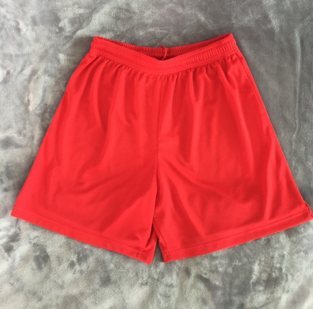 Training Shorts Red