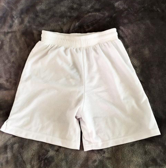 Training Shorts White